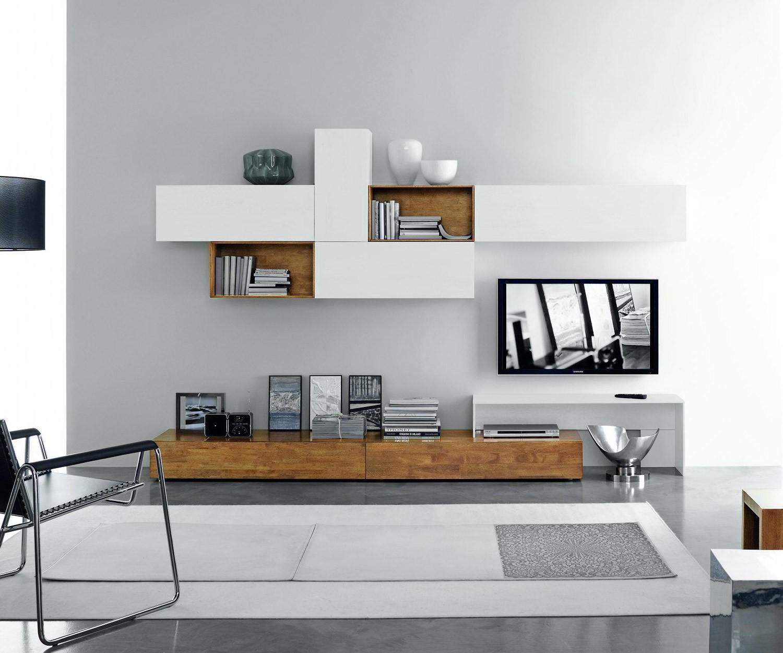 Wohnwand  Moderne Designer TV Wohnwnde