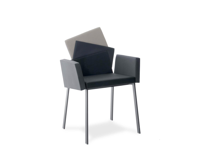 Compar Design Stuhl Karina mit Armlehnen