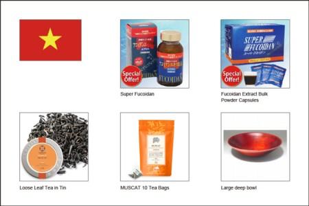 ベトナムで売れている商品