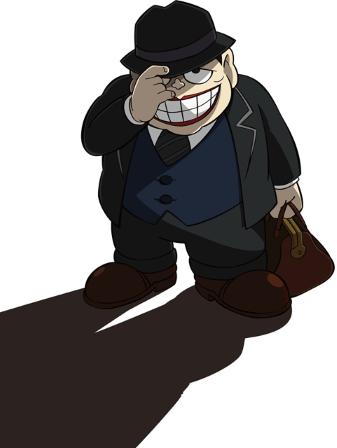 Laughing Salesman New