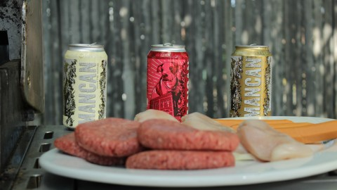 Two heavy pours are in each can, perfect for drinking alfresco.