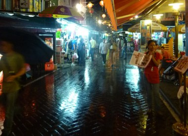 Rain Chinatown, Geylang Food Affair, Singapore Weekend Southeast Asia