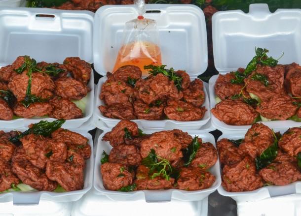 Thai Fish Cakes, Bangkok Street Food, Cheap Eats