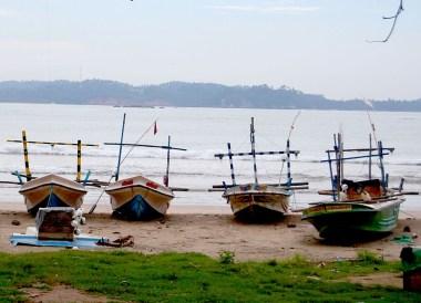 Srilankan Fishing Boats, South Sri Lanka Tour, Independent Travel Asia