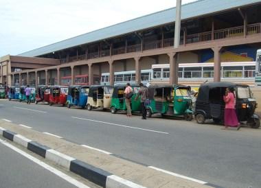 Front of Matara Bus Station, South Sri Lanka Tour, Independent Travel