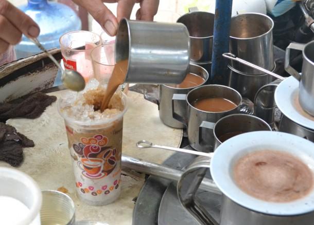 Thai Iced Coffee, Bangkok Street Food, Cheap Eats, Thailand