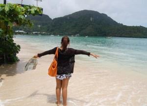 Loh Dalum Beach Low season in Krabi Thailand, southeast asia
