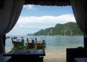 Carlitos Bar Ton Sai Bay, Low season in Krabi Thailand, southeast asia