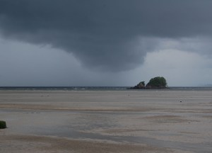 Ko Lanta Storm Brewing, Low season in Krabi Thailand, Southeast Asia