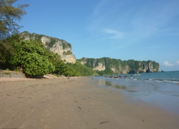 Ao Nang Beach Views, Low season in Krabi Thailand, Southeast Asia
