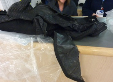 Claim for Damaged Baggage Ran Over by a Truck?