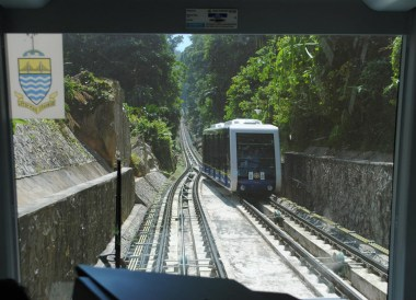 Funicular Rail, Quick Guide to Georgetown Penang, Malaysia, Asia