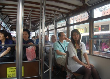 Onboard Ding Dong, Hong Kong by Train Travel, MTR Top Attractions, Asia