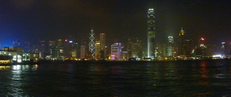 Nighttime Harbour Views, Hong Kong by Train Travel, MTR Top Attractions, Asia