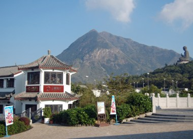 Ngong Ping Village, Hong Kong by Train Travel, MTR Top Attractions, Asia