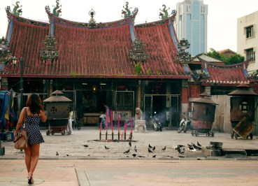 Chinese Temple, Quick Georgetown Penang Guide, Malaysia, Southeast Asia