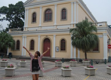 Our Lady of Carmel Parish, Taipa Macau Old Town, Portuguese Colonial Area