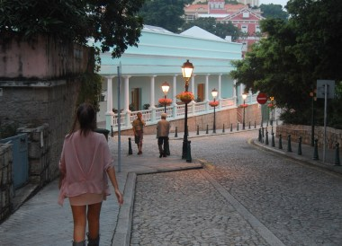 Cobbled Streets, Tourist Attractions in Macau China