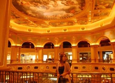 Inside Venetian Casino, Taipa Macau Old Town, Portuguese Colonial Area, SE Asia