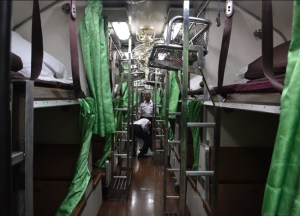Second Class Sleepers, Long Distance Travel in Thailand, Bangkok