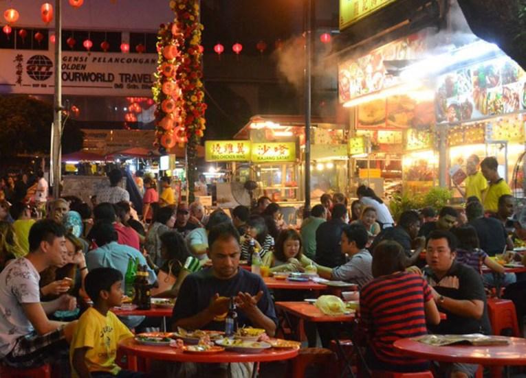 Jalan Alor Food,Top 10 Attractions in Kuala Lumpur Malaysia