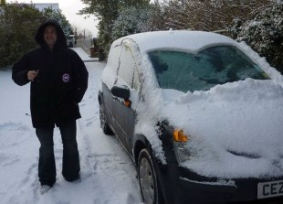 Snow Driving in Bangor, Northern Ireland, Less Ordinary Bucket List