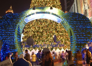Bangkok Christmas Lights - Central Siam Area - Central World of Happiness Bear