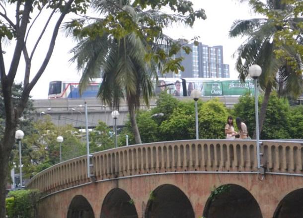 Mo Chit Skytrain, Chatuchak Park Bangkok, Park Life in Southeast Asia