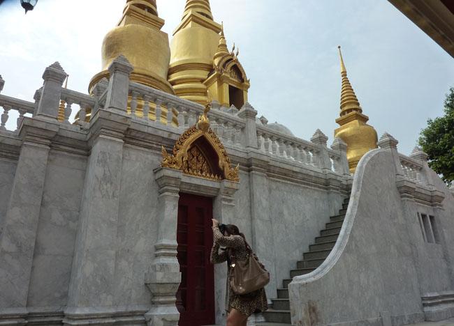 Temple Chedit at Wat Tri Thotsathep Worawihan, Bangkok Southeast Asia