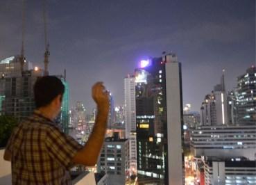 Throwing Fun Snaps from Skyscrapers - Wanderlust Blog of the week - Condo Roof Top
