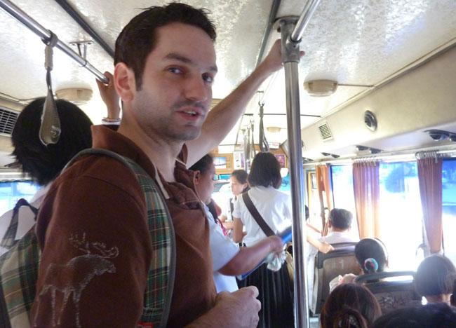 Student Bangkok Local Bus, Bangkok Student Life in Southeast Asia