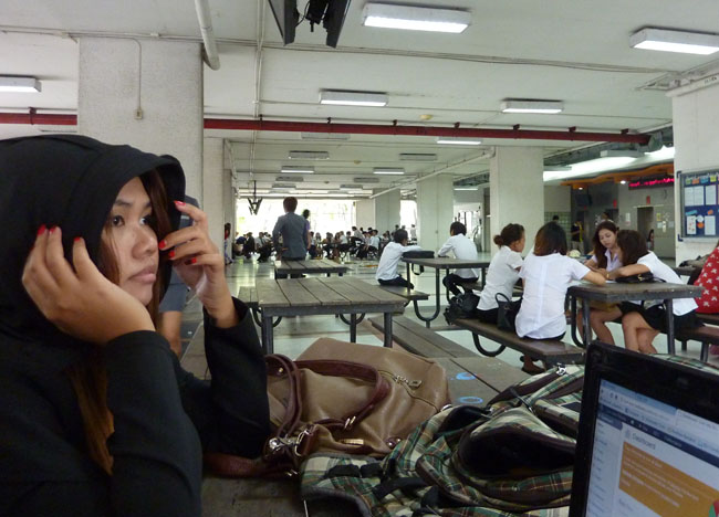 Sripatum University Hall, Bangkok Student Life in Southeast Asia