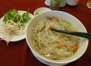 Vietnamese Pho Noodle Soup, Vietnamese Food, HCMC, Saigon, Vietnam