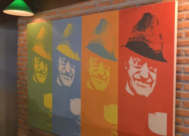 Irish Pop Art at Dubliner Irish Bar in Bangkok Sukhumvit