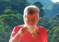 Sipping Ceylon Tea Sri Lanka. Travelling with Mum in Southeast Asia