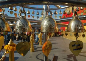 Blessed Bells, New Year Temple Tour in Bangkok, Southeast Asia