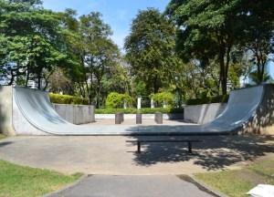 Skate Park, Benjakiti Park Bangkok, Park Life in Southeast Asia