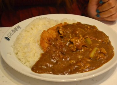Japanese Food, Local Tokyo Coco Ichibanya World's Best Curry House Franchise