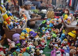 Retro Stuffed Toys, Bangkok Retro Market, Southeast Asia
