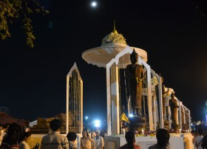 New Years Eve at Sanam Luang, New Years Day in Bangkok, Southeast Asia