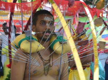 Wanderlust Blog of the Year - Kavadi Thaipusan Festival - Penang
