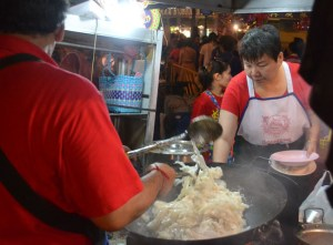 Giant Noodle Wok, Chinese New Year in Bangkok Chinatown, Yaowarat