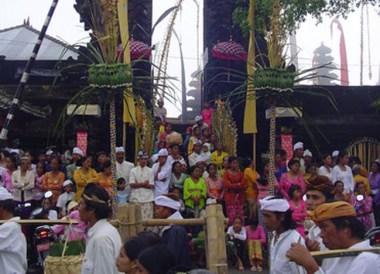 Anniversary, Ulun Danu Batur Temple Ceremony, Bali Southeast Asia