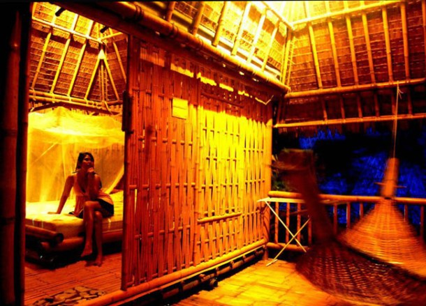 Magic View Bungalows at Night, Top Romantic Koh Tao Hideaways