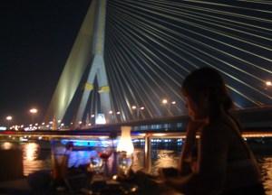 Rama 8 Bridge Bangkok Dinner Cruise Romantic Valentines Southeast Asia