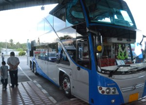 Satun Bus Station. Langkawi to Bangkok via Satun, Southeast Asia