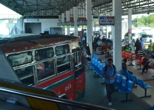 Shouthern Thai Buses, Long Distance Travel in Thailand, Bangkok