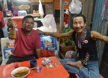 Drinking Ya Dong Satun. Langkawi to Bangkok via Satun, Southeast Asia