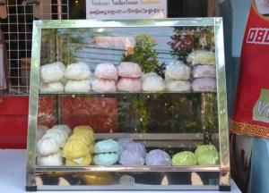 Coloured Bao, Bangkok Chinatown, Eating Chinese Food, Southeast Asia