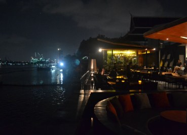 Bangkok River Views, Buri Tara Riverside Restaurant, Southeast Asia